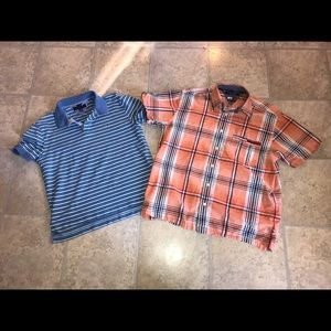 Tommy Hilfiger Shirt Lot ( 2 Large Shirts )